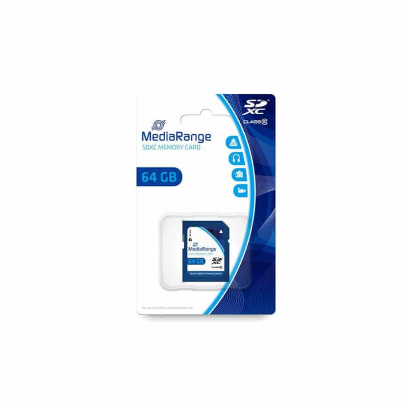 MediaRange SDXC Class 10 64 GB (eXtended Capacity) MR965
